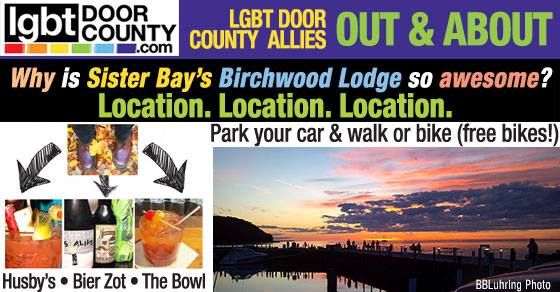 New Year's Eve in Sister Bay + Birchwood Lodge