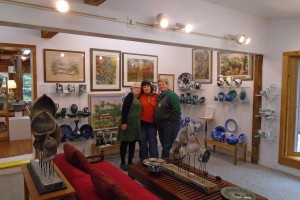 Experiences Coming to Ellison Bay Pottery