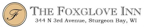 Foxglove Inn Welcomes You with Warm Whirlpool Tubs, Hot Fires, & Yummy Breakfast